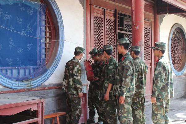 南街西来寺社区开展宗教场所消防安全检查