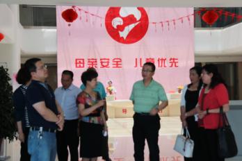 """甘州区妇幼保健院接受""""省级儿童早期发展示范基地""""现场评审"""