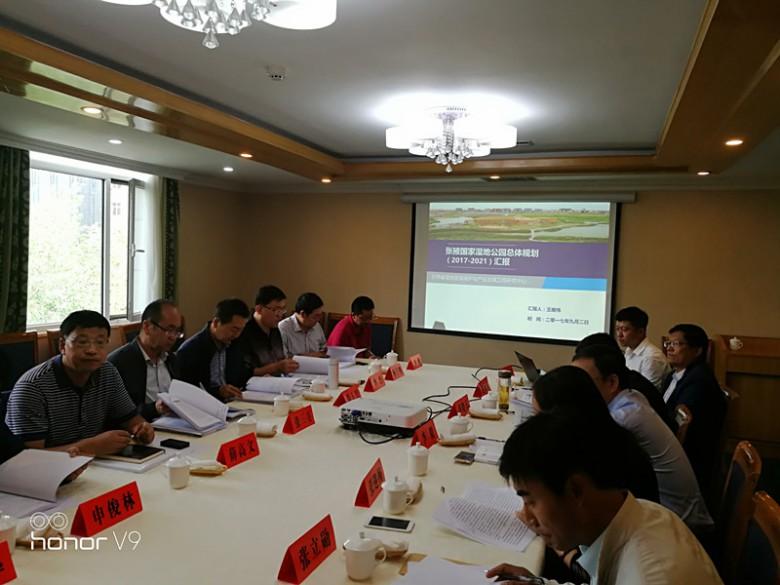 张掖国家湿地公园总体规划(2018—2025年)通过省级专家评审