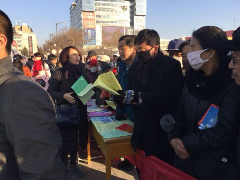 """甘州区林业局开展""""12.4""""国家宪法日宣传活动"""