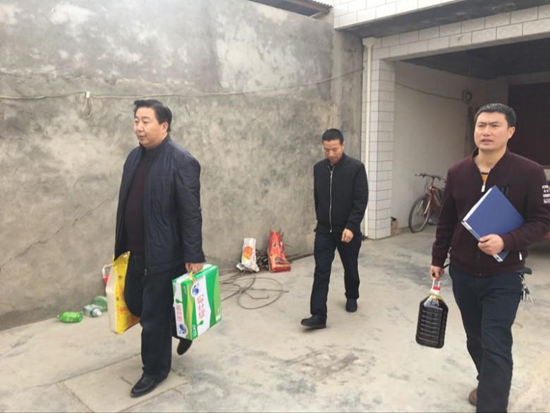 甘州区湿地局春节前集中开展扶贫慰问活动