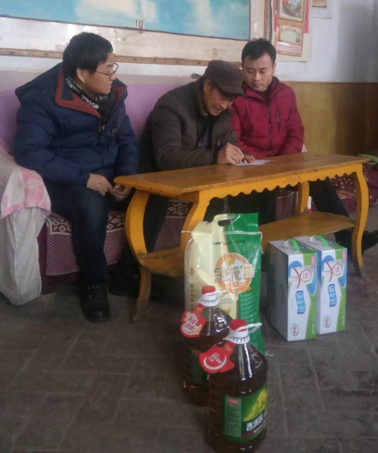 甘州区民族宗教局新春慰问进乡邻,关怀祝福暖人心