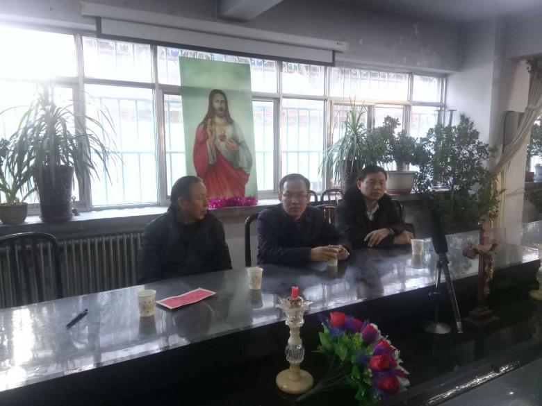 甘州区四套班子领导慰问 各宗教团体和宗教界代表人士