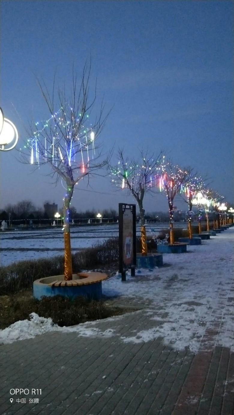 润泉湖公园筹备布展大型公益灯展为市民献文化大餐