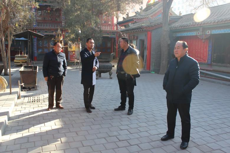 甘州区民族宗教局开展春节前宗教活动场所安全大检查