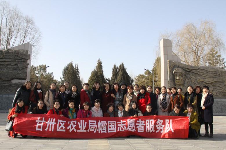 """甘州区农业局开展""""新农村、新风貌""""庆三·八观摩活动"""