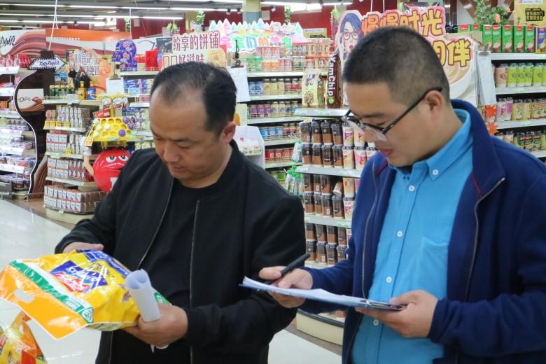 区农业局开展绿色食品市场监察工作
