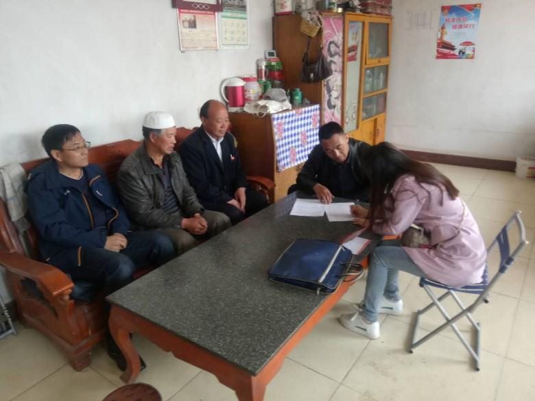 甘州区民族宗教局积极开展扶贫帮扶工作