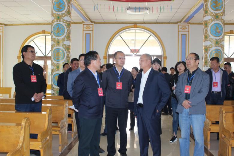 甘州区政协委员视察全区民族宗教工作