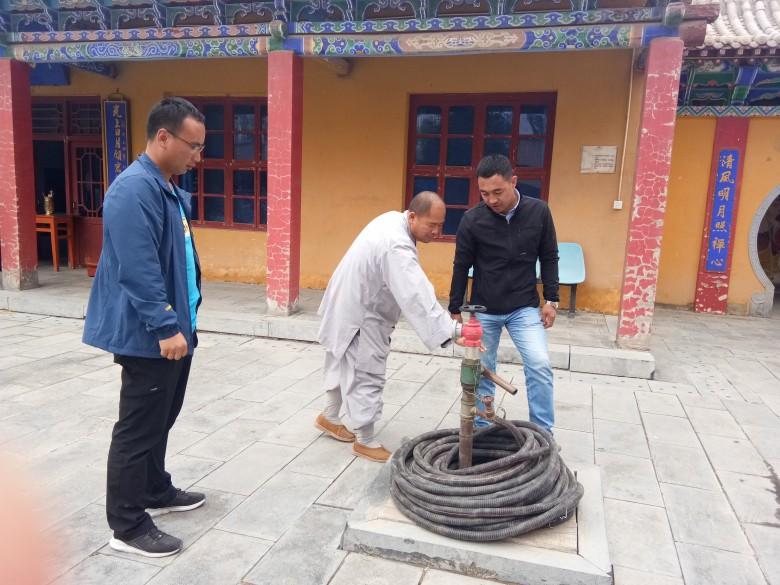 甘州区民族宗教局开展宗教活动场所消防安全大检查