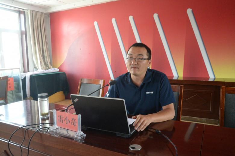 甘州区学习贯彻全国全省两会精神助力脱贫攻坚行动巡回宣讲在长安镇开讲